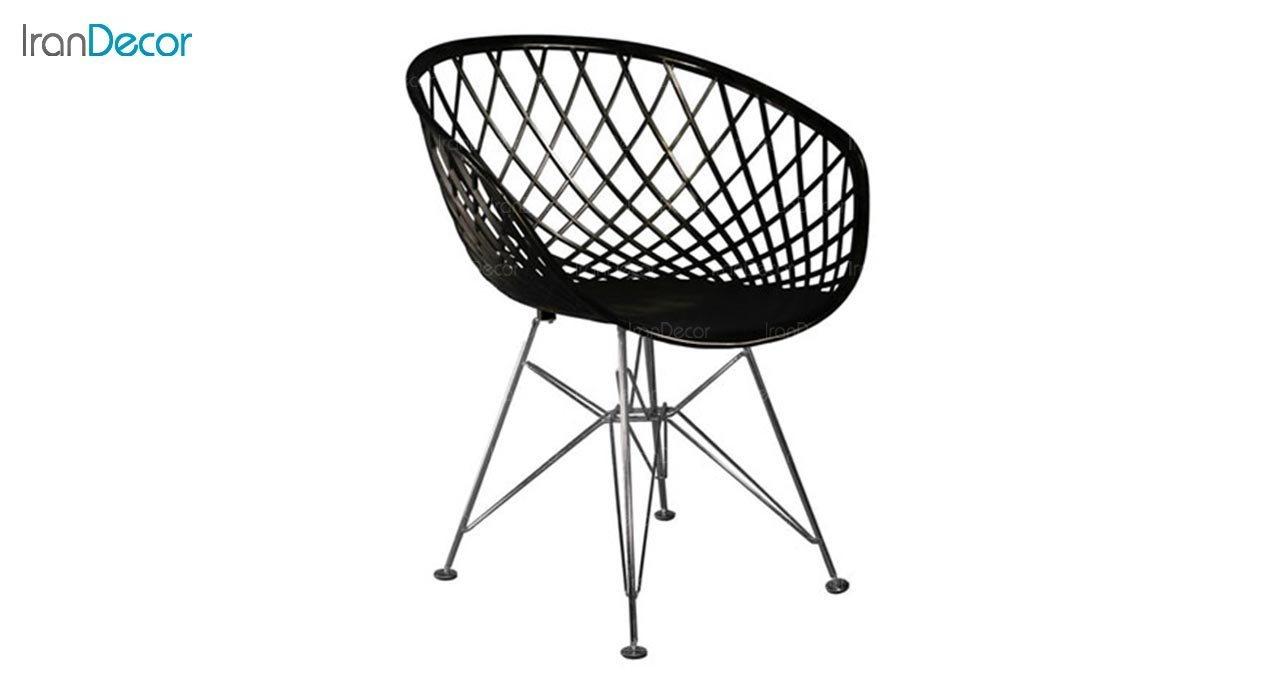 تصویر صندلی پایه درختی فلزی بنیزان مدل بامبو کد BA560
