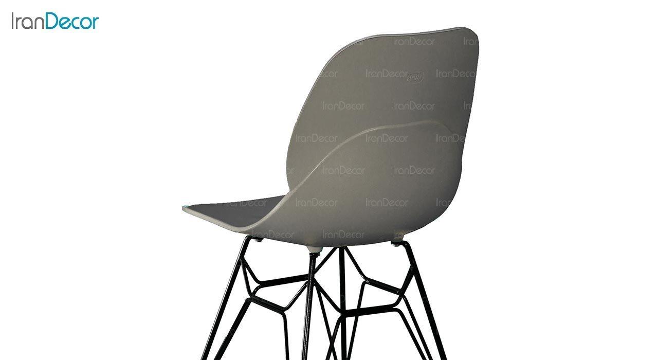 تصویر صندلی پایه ایفلی فلزی بنیزان مدل کندو کد K530S
