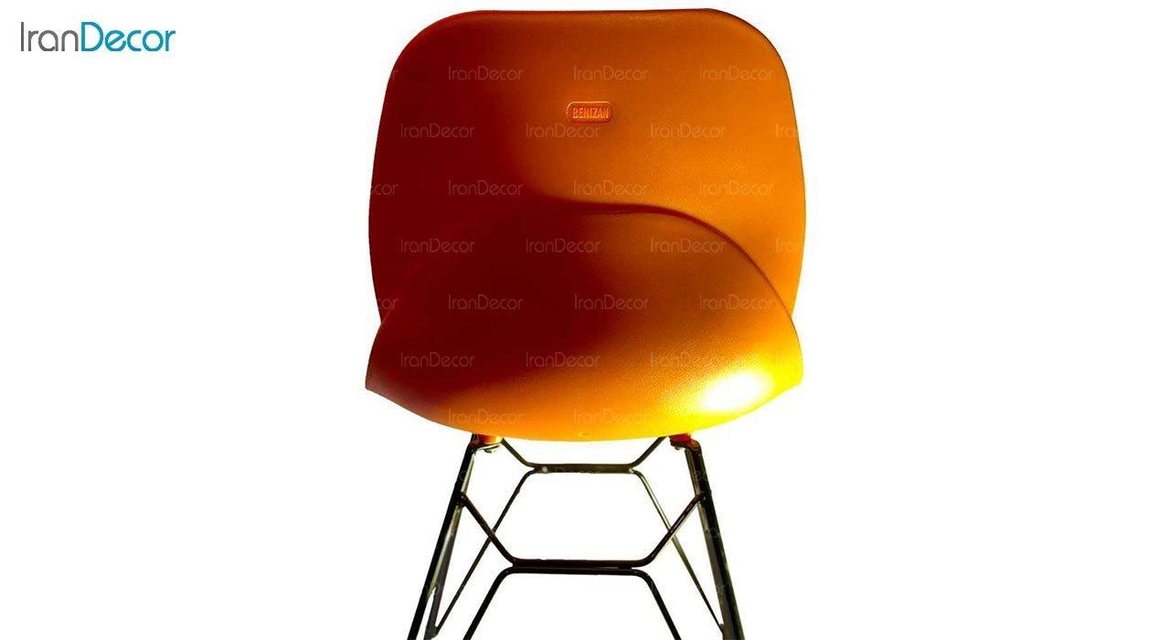 تصویر صندلی پایه ایفلی تشک دار بنیزان مدل کندو کد K530S