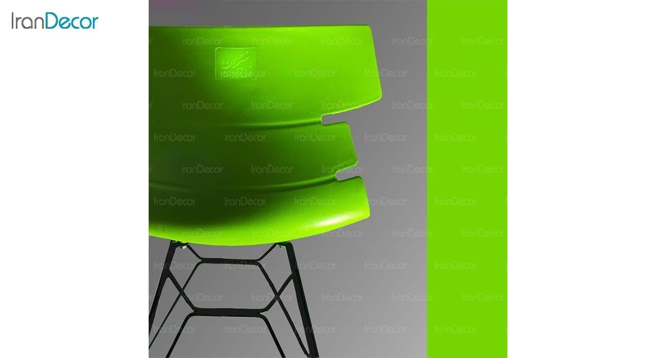 تصویر صندلی پایه ایفلی فلزی بنیزان مدل مرجان کد M530S