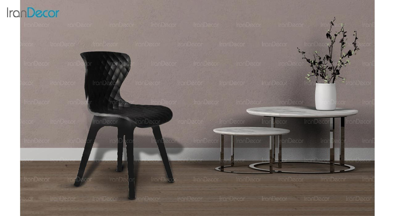 تصویر صندلی پلاستیکی بنیزان مدل دیاموند کد B520