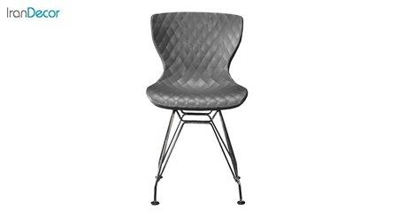تصویر صندلی پایه ایفلی بنیزان مدل دیاموند کد B530 آبکاری شده