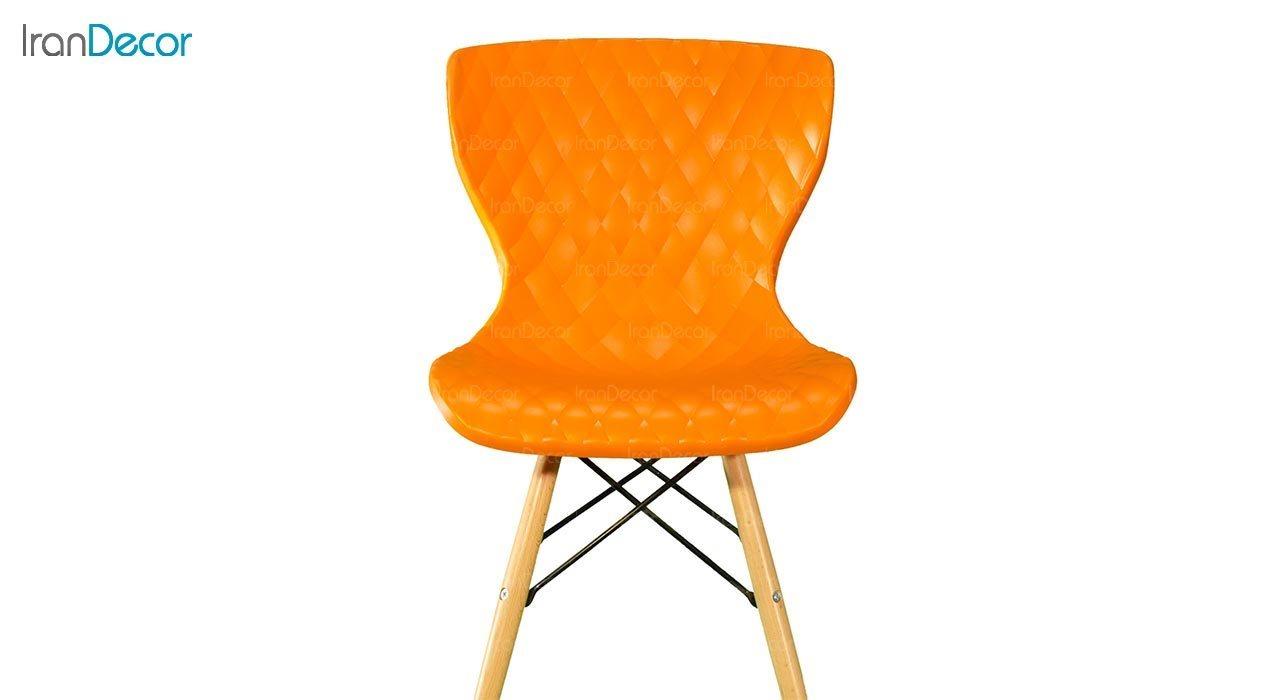 تصویر صندلی اپن پایه چوبی بنیزان مدل دیاموند کد B600