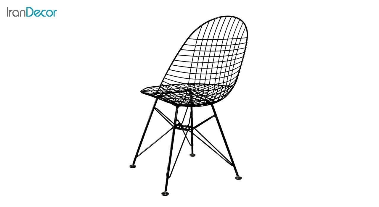 عکس صندلی پایه درختی فلزی بنیزان مدل پاپیتال کد P560S