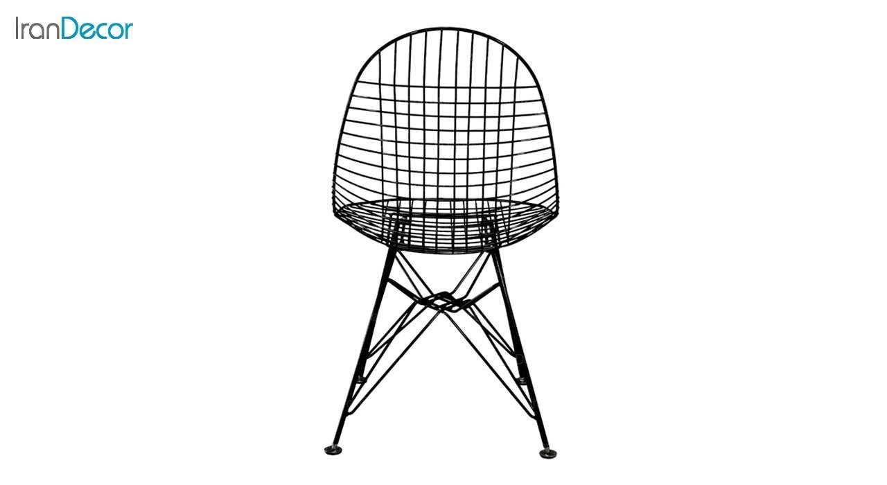 تصویر صندلی پایه درختی فلزی بنیزان مدل پاپیتال کد P560S