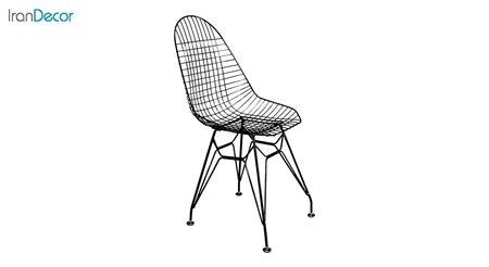 تصویر صندلی پایه ایفلی فلزی بنیزان مدل پاپیتال کد P530S