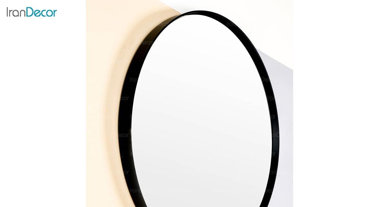 تصویر آینه گرد دیواری مدل ماه کد MC