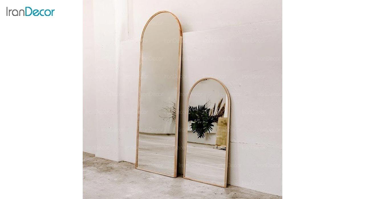 تصویر آینه قدی دیواری مدل آدینه کد AD