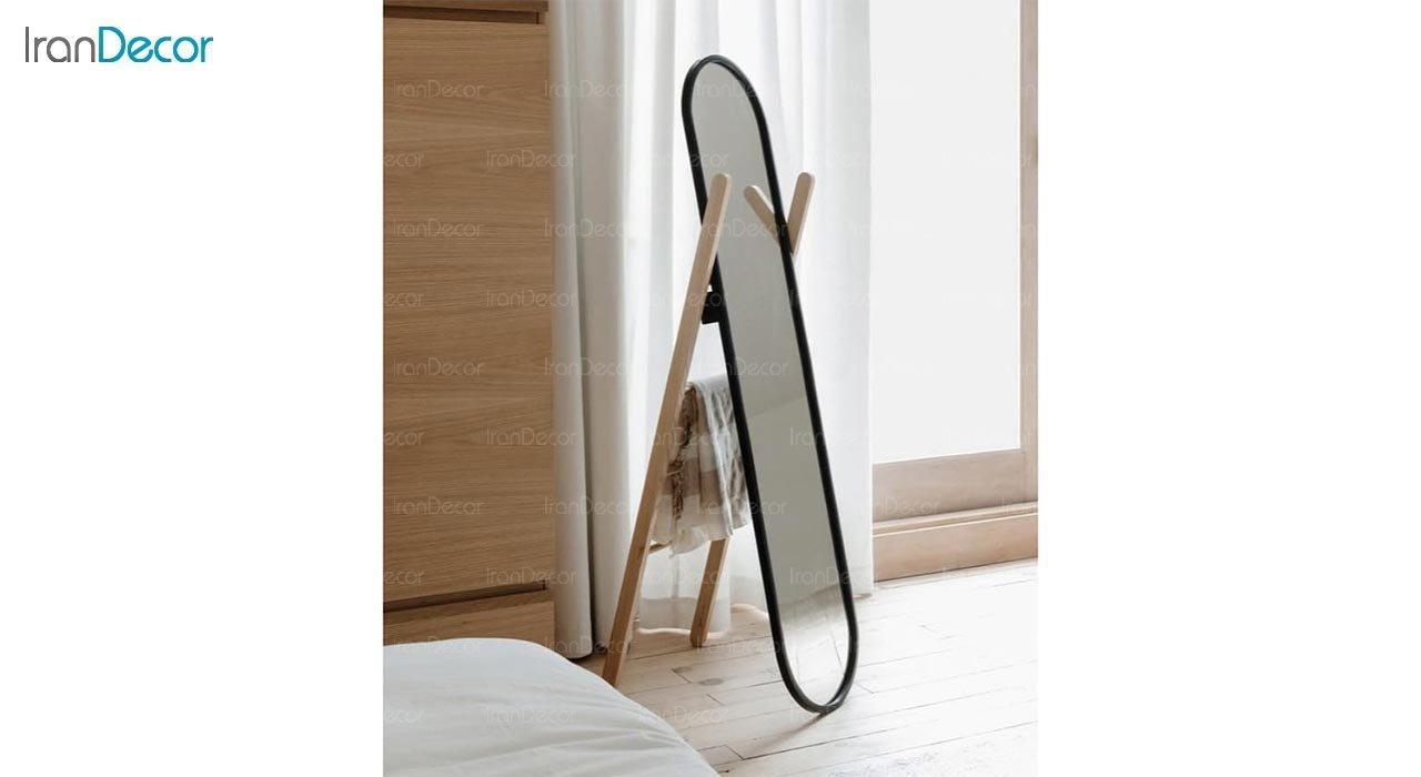 عکس آینه قدی ایستاده مدل نردبانی کد ND