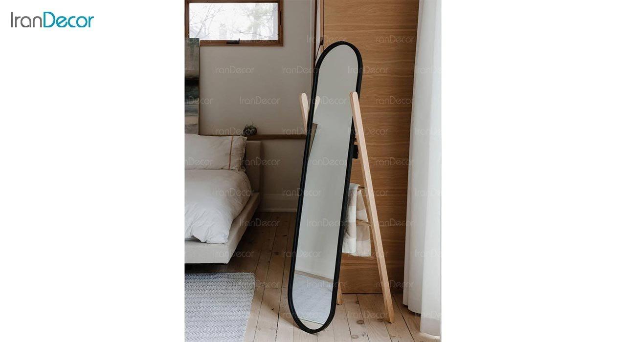 تصویر آینه قدی ایستاده مدل نردبانی کد ND