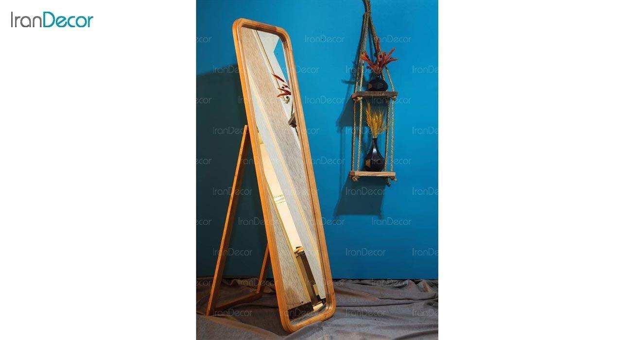 عکس آینه قدی ایستاده مدل پرتابل کد MW