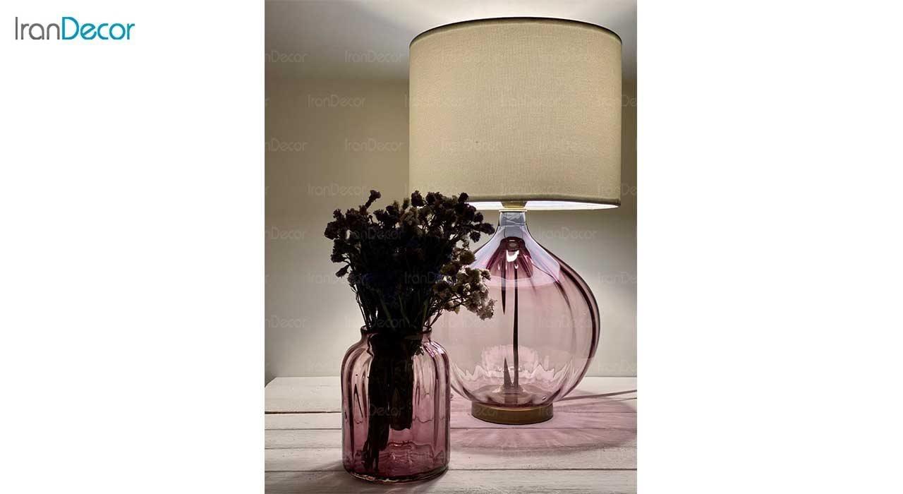 عکس ست آباژور و گلدان شیشه ای برسام مدل 403