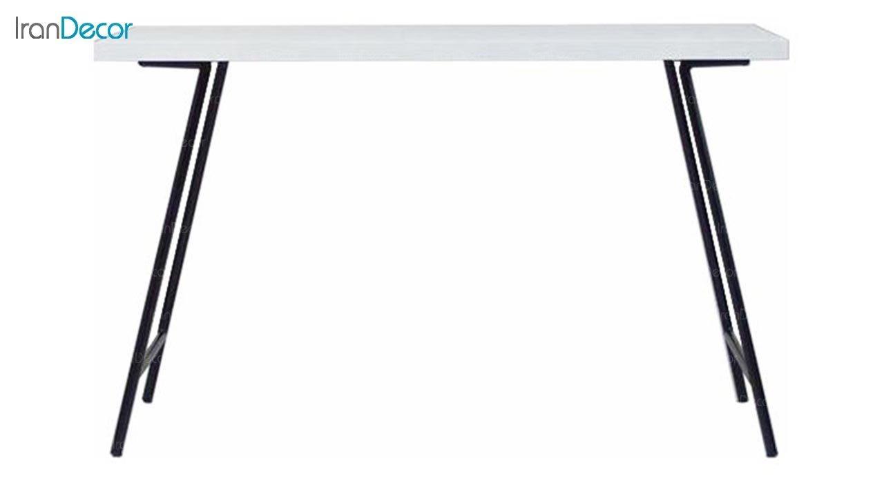 تصویر میز مستطیل پایه لوله ای بنیزان مدل TP120S