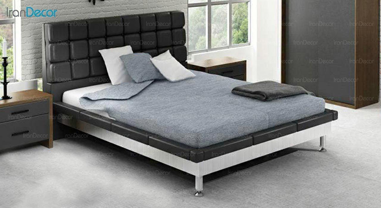 تصویر تخت خواب دو نفره امپریال مدل I101