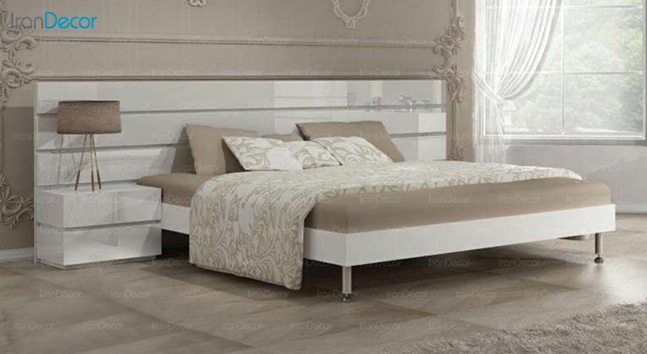 تصویر تخت خواب دو نفره امپریال مدل I102