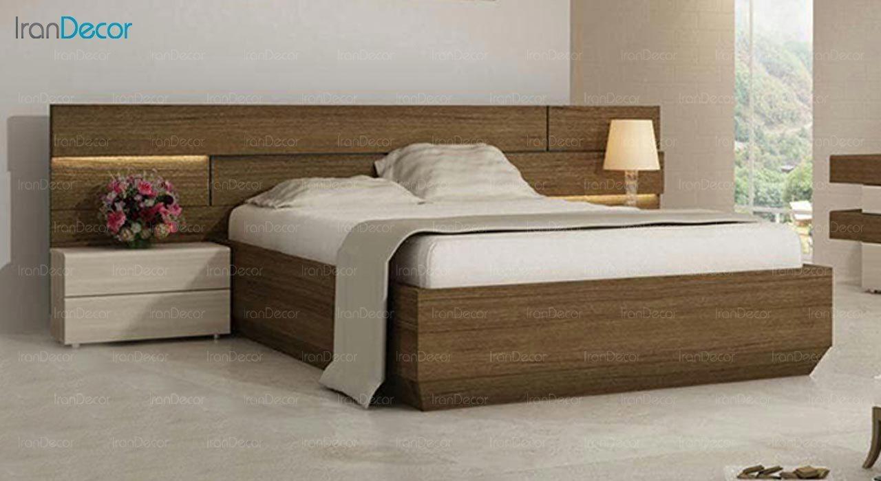 تصویر تخت خواب دو نفره امپریال مدل I103