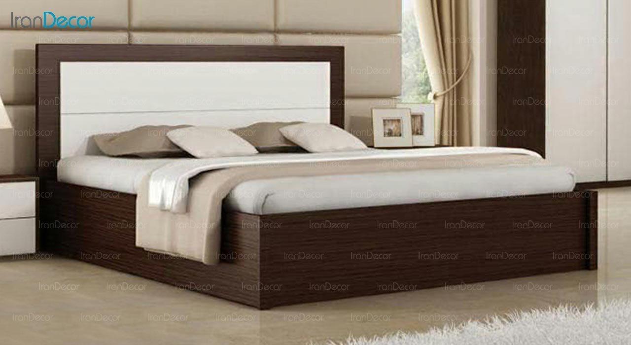 تصویر تخت خواب دو نفره امپریال مدل I104