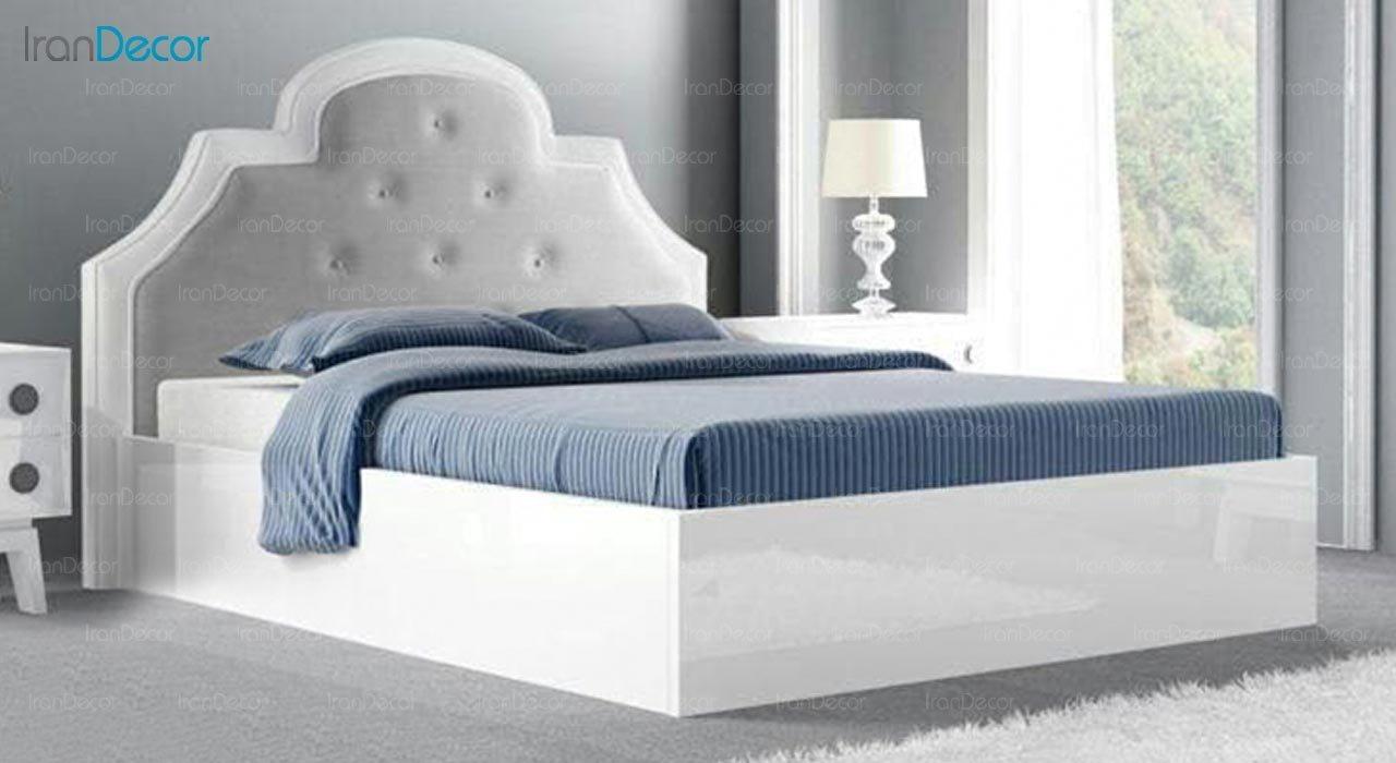 تصویر تخت خواب دو نفره امپریال مدل I108