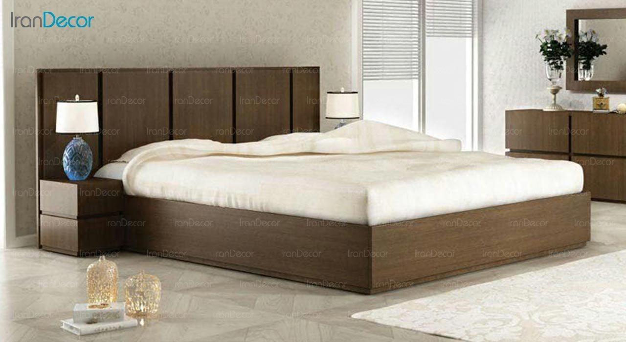 تصویر تخت خواب دو نفره امپریال مدل I109