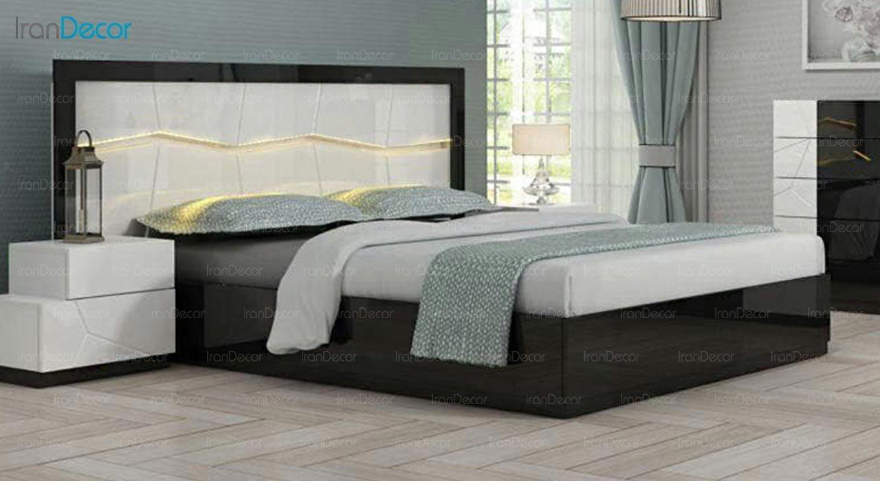 تصویر تخت خواب دو نفره امپریال مدل I110