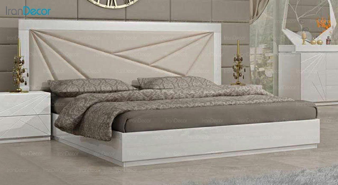 تصویر تخت خواب دو نفره امپریال مدل I112