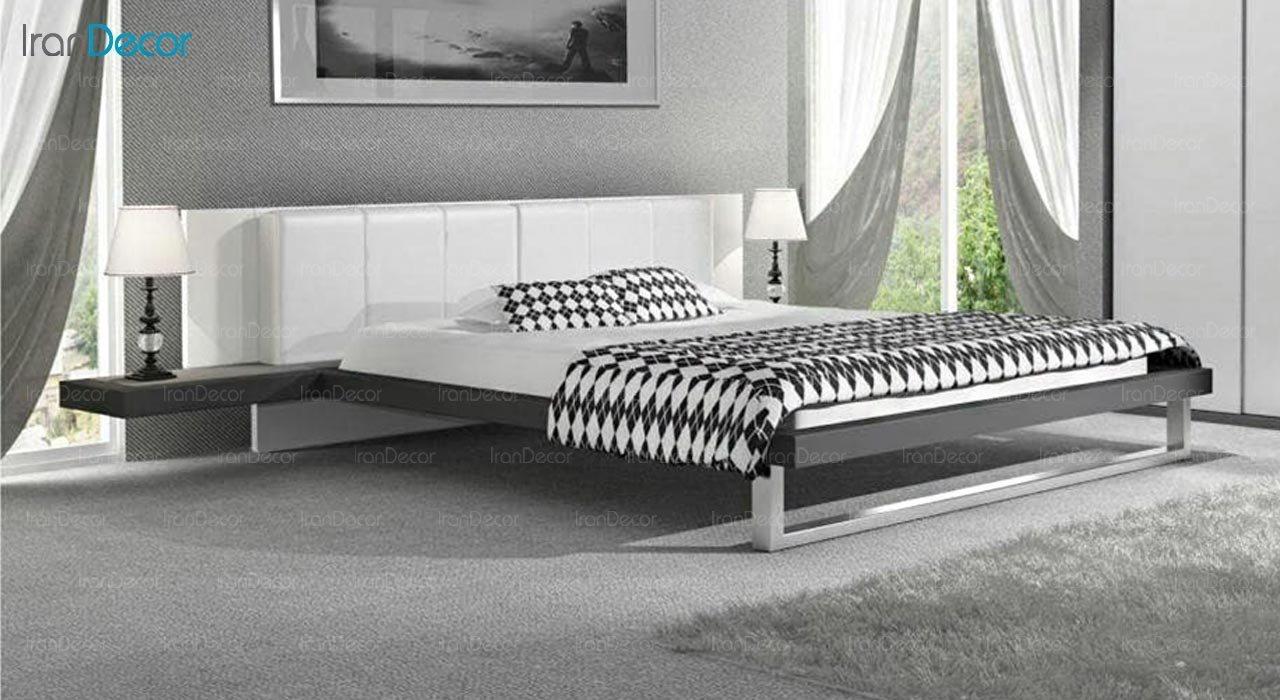 تصویر تخت خواب دو نفره امپریال مدل I113