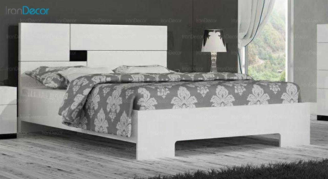 تصویر تخت خواب دو نفره امپریال مدل I114