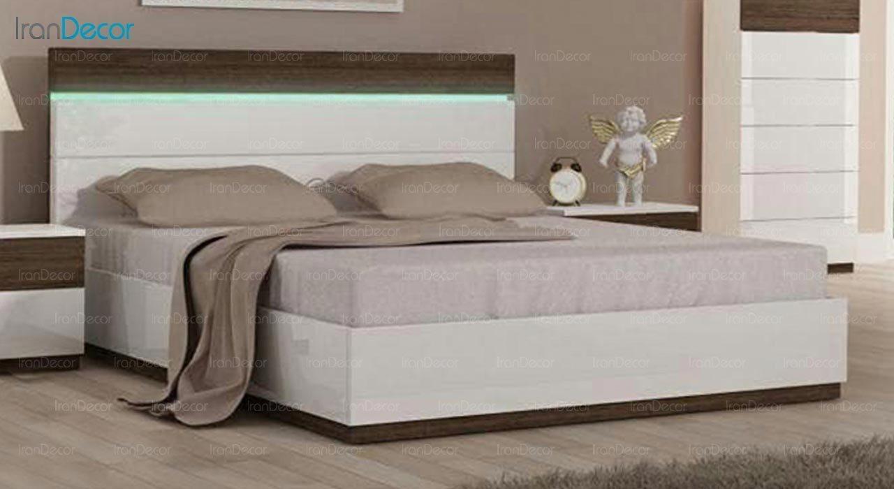 تصویر تخت خواب دو نفره امپریال مدل I115
