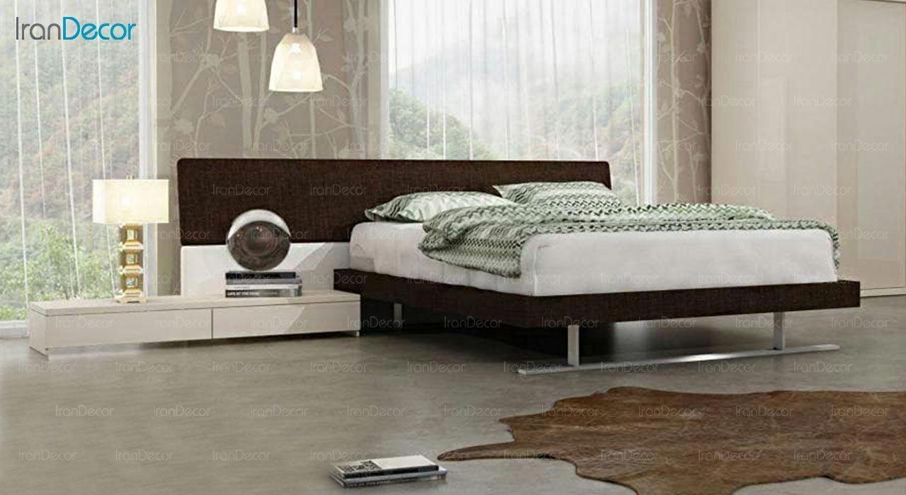 تصویر تخت خواب دو نفره امپریال مدل I119