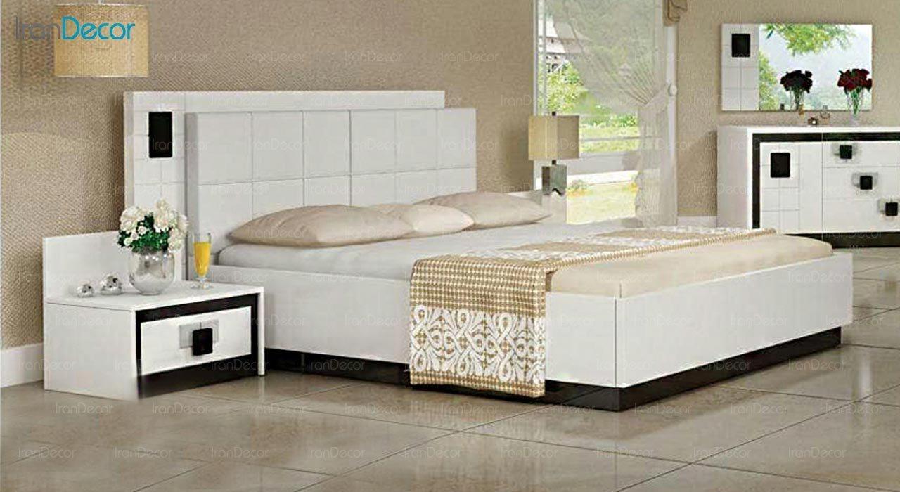 تصویر تخت خواب دو نفره امپریال مدل I120