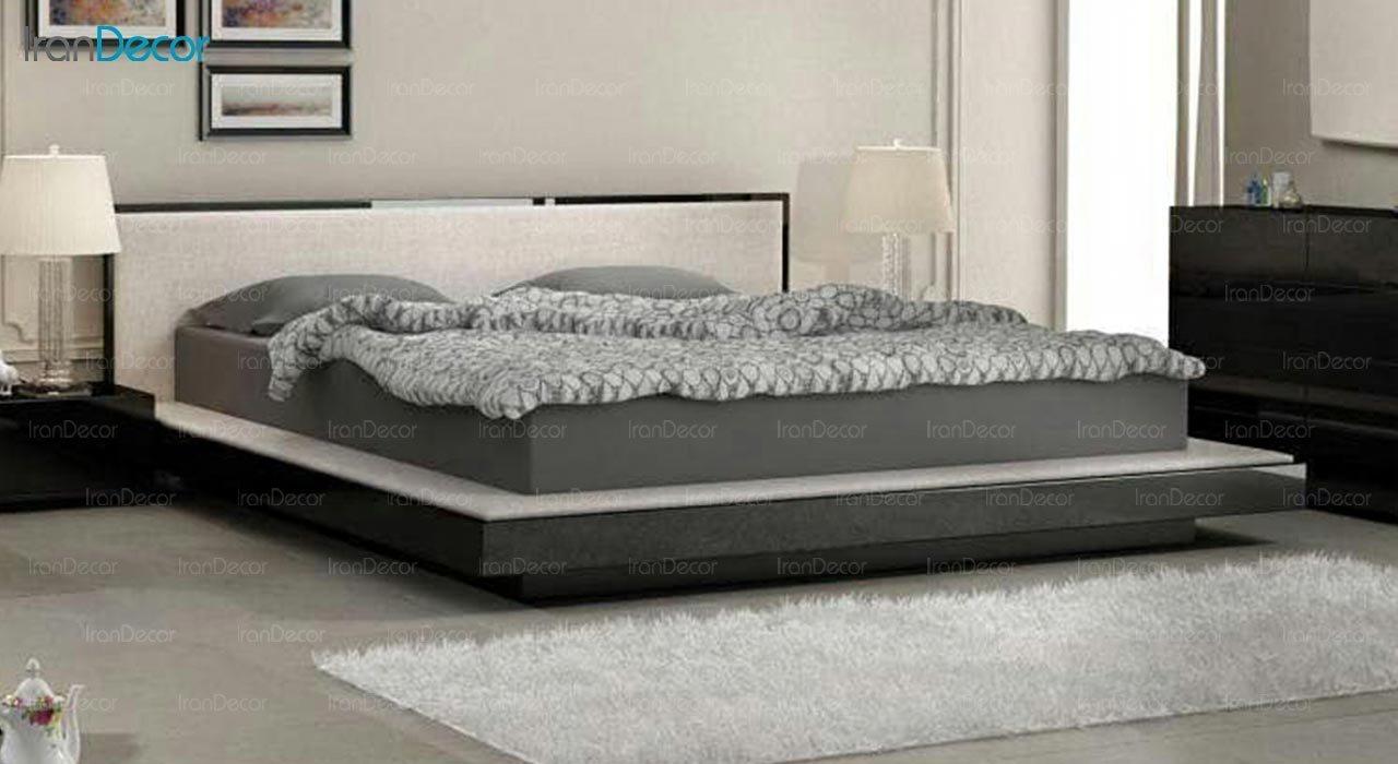 تصویر تخت خواب دو نفره امپریال مدل I123