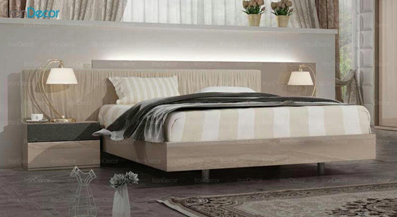تصویر تخت خواب دو نفره امپریال مدل I124