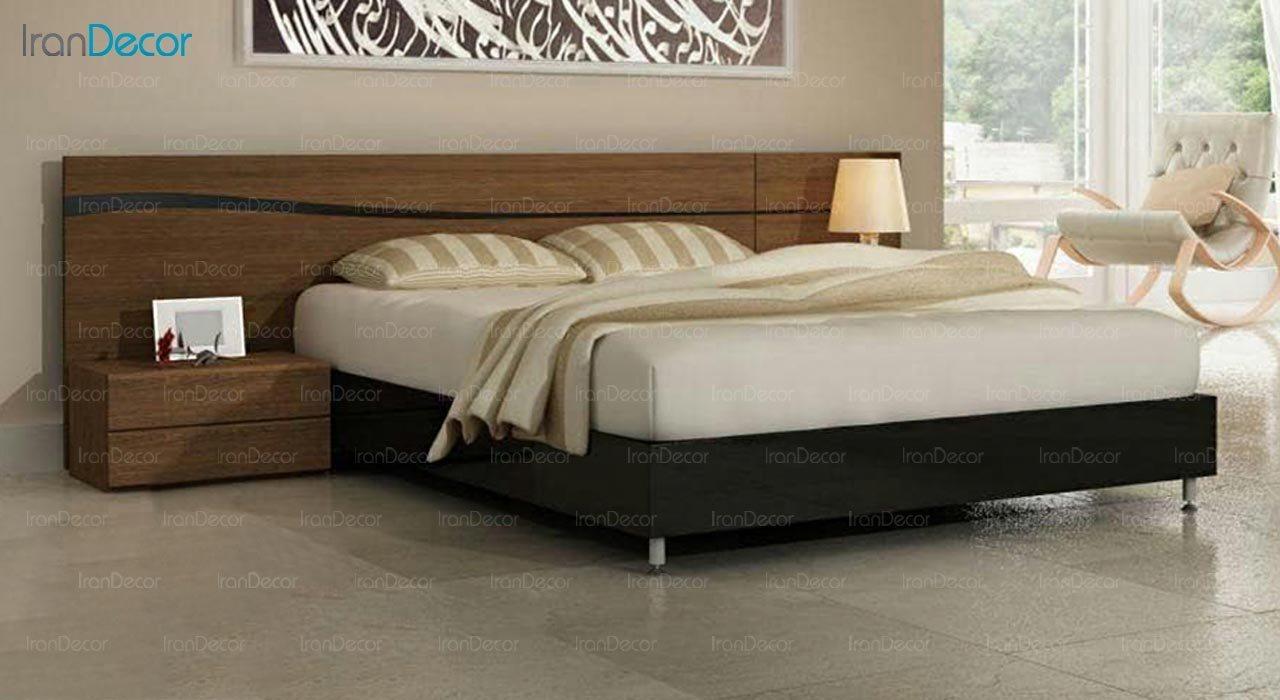 تصویر تخت خواب دو نفره امپریال مدل I127