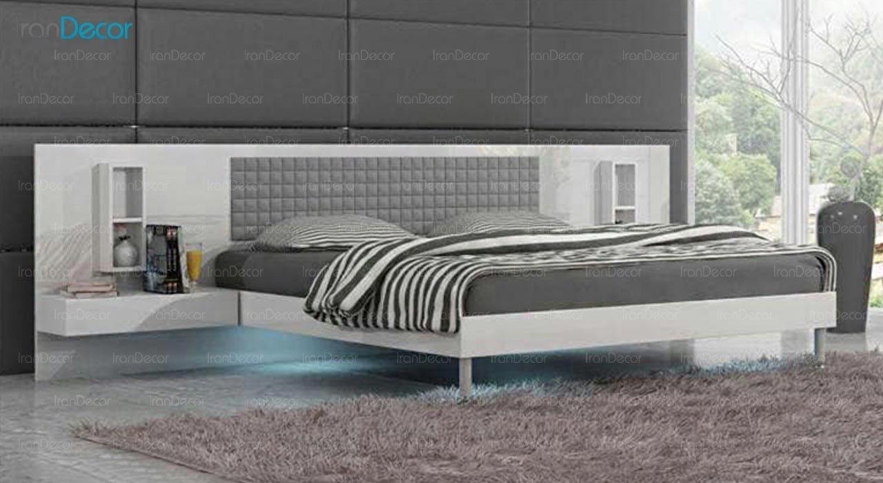 تصویر تخت خواب دو نفره امپریال مدل I128