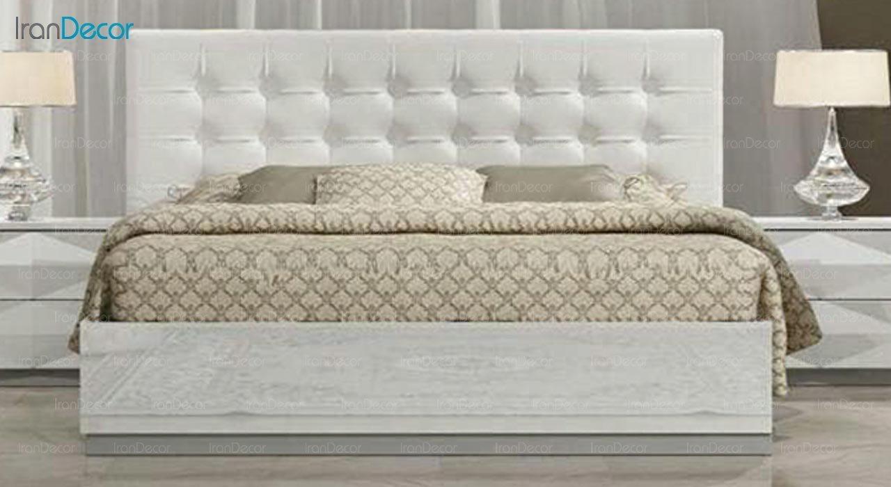 تصویر تخت خواب دو نفره امپریال مدل I129