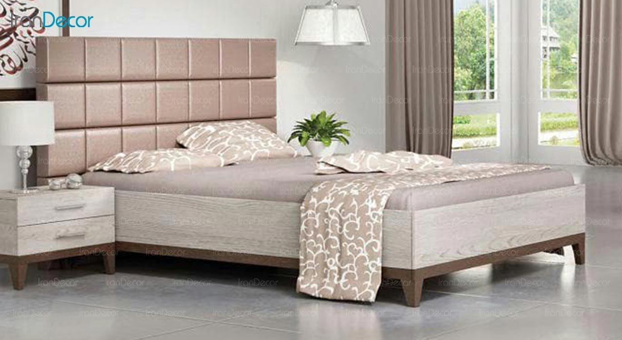 تصویر تخت خواب دو نفره امپریال مدل I132