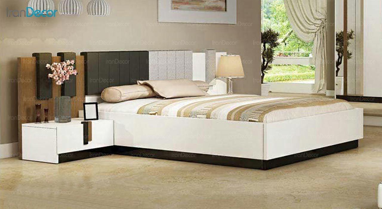 تصویر تخت خواب دو نفره امپریال مدل I133
