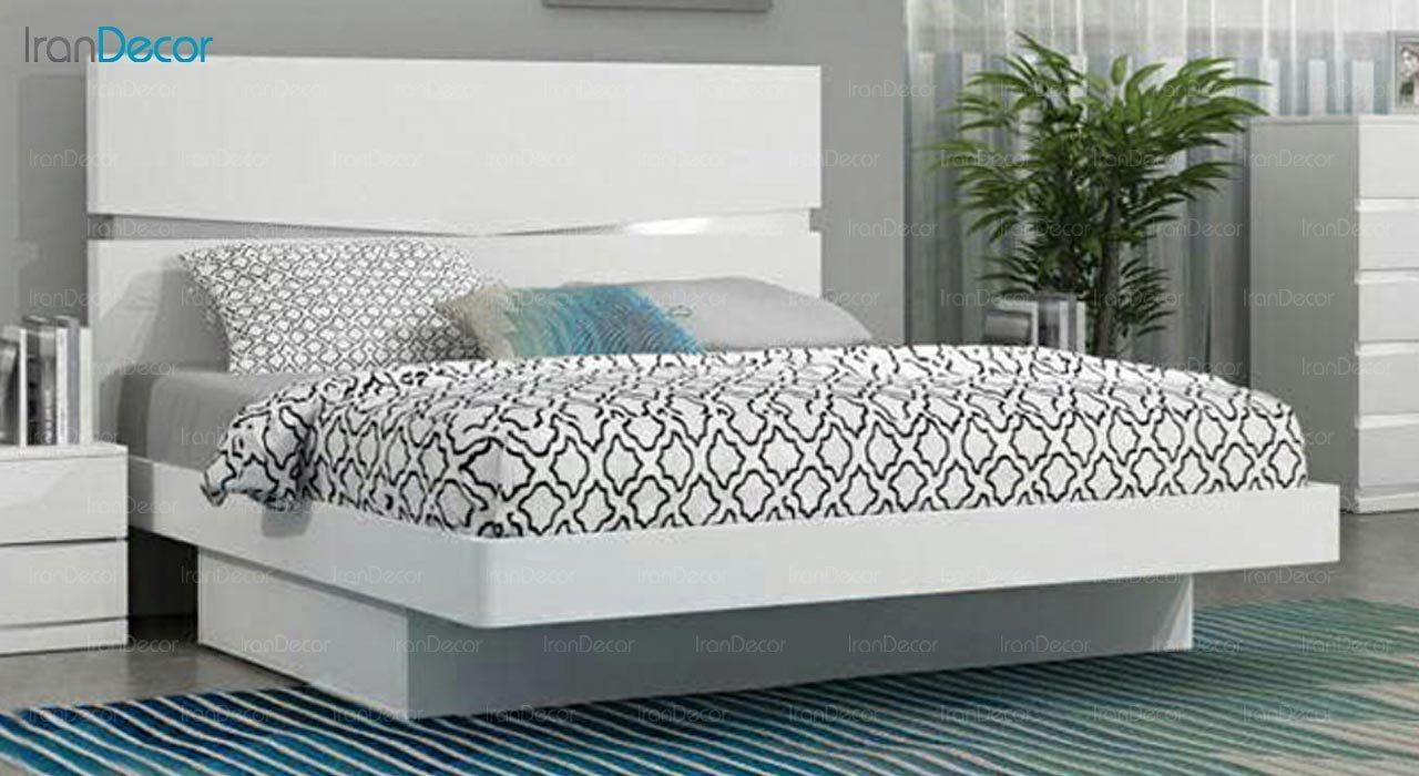 تصویر تخت خواب دو نفره امپریال مدل I134