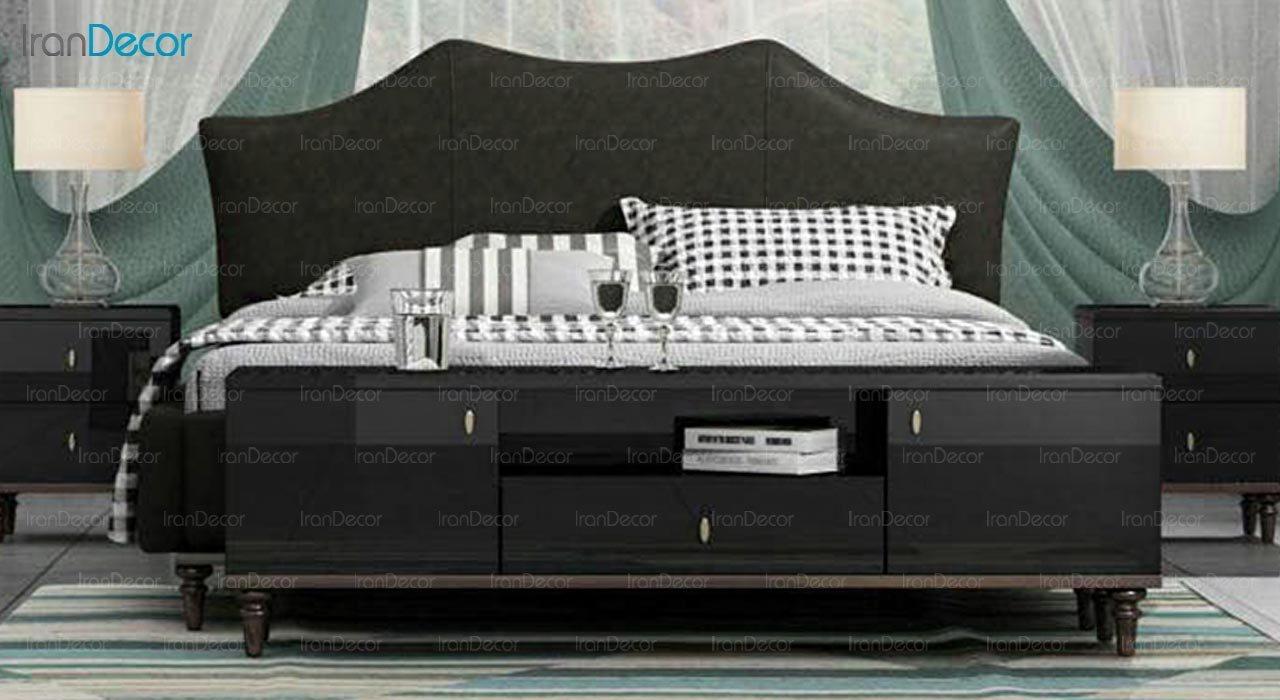 تصویر تخت خواب دو نفره امپریال مدل I136