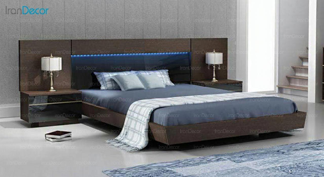تصویر تخت خواب دو نفره امپریال مدل I137