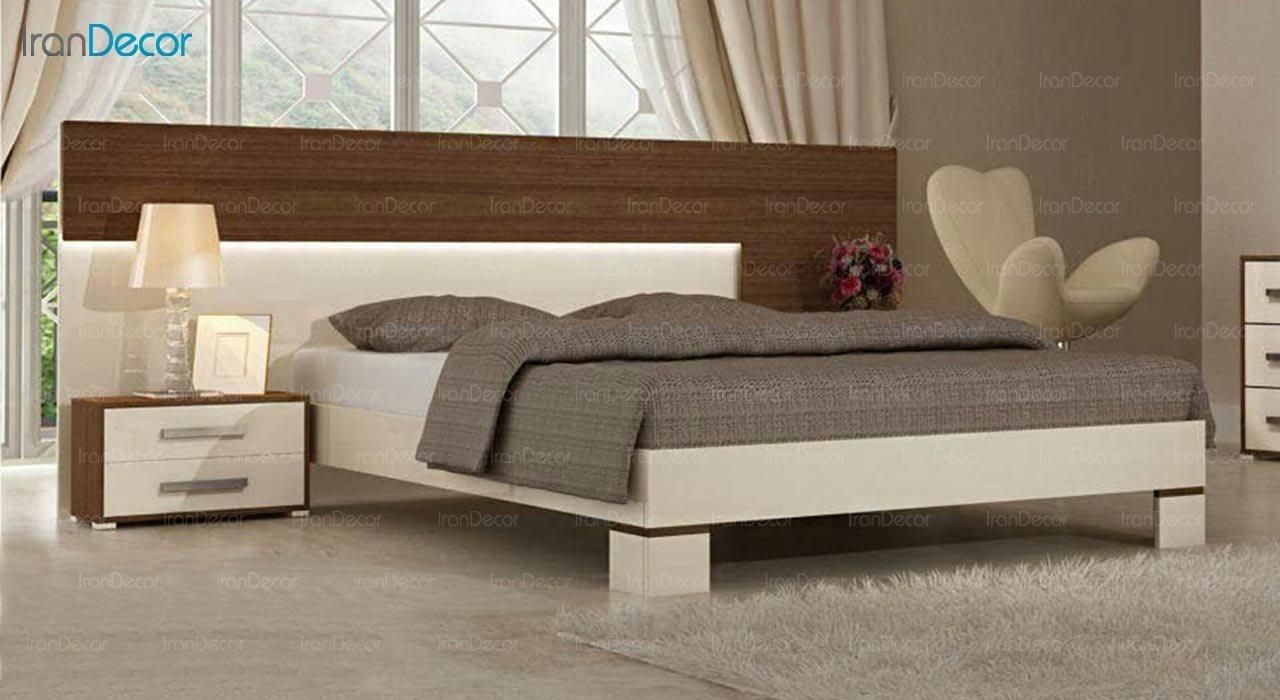 تصویر تخت خواب دو نفره امپریال مدل I138