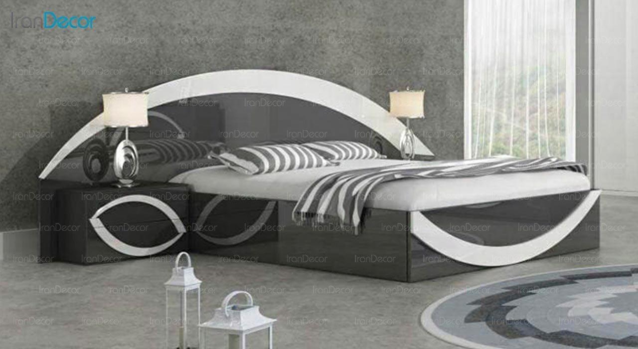 تصویر تخت خواب دو نفره امپریال مدل I139