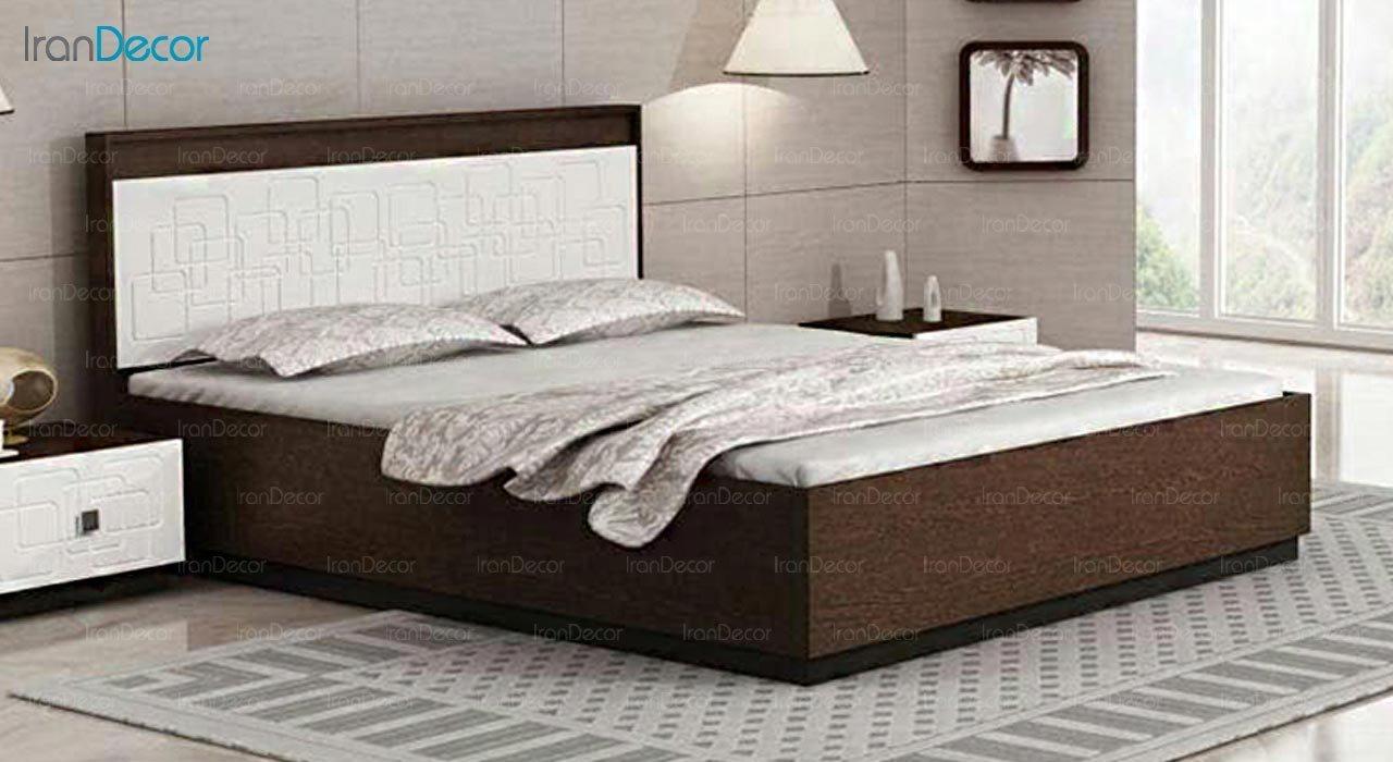 تصویر تخت خواب دو نفره امپریال مدل I140