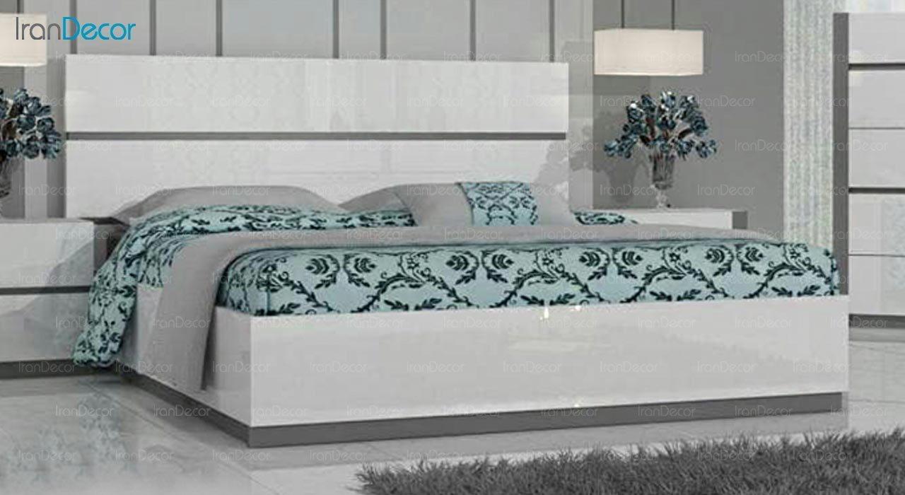 تصویر تخت خواب دو نفره امپریال مدل I141