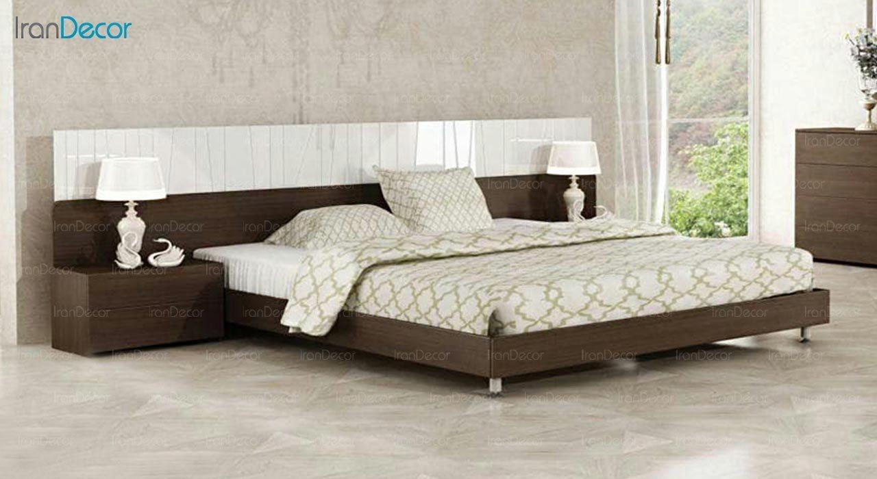 تصویر تخت خواب دو نفره امپریال مدل I143