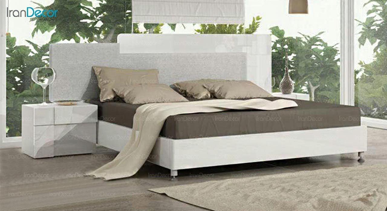 تصویر تخت خواب دو نفره امپریال مدل I144