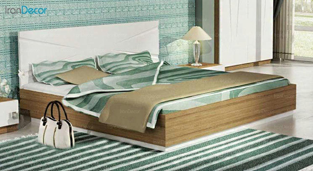 تصویر تخت خواب دو نفره امپریال مدل I145