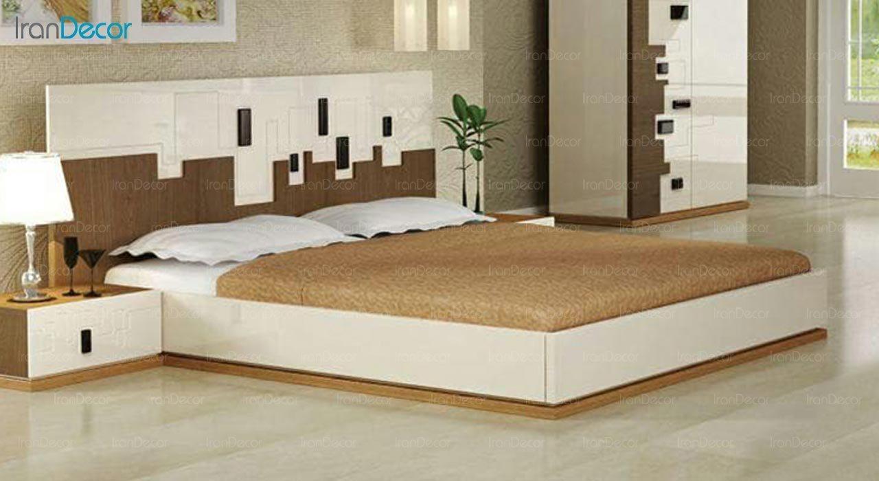 تصویر تخت خواب دو نفره امپریال مدل I148