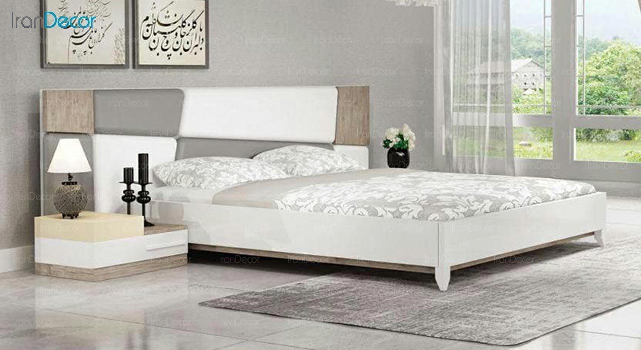 تصویر تخت خواب دو نفره امپریال مدل I149