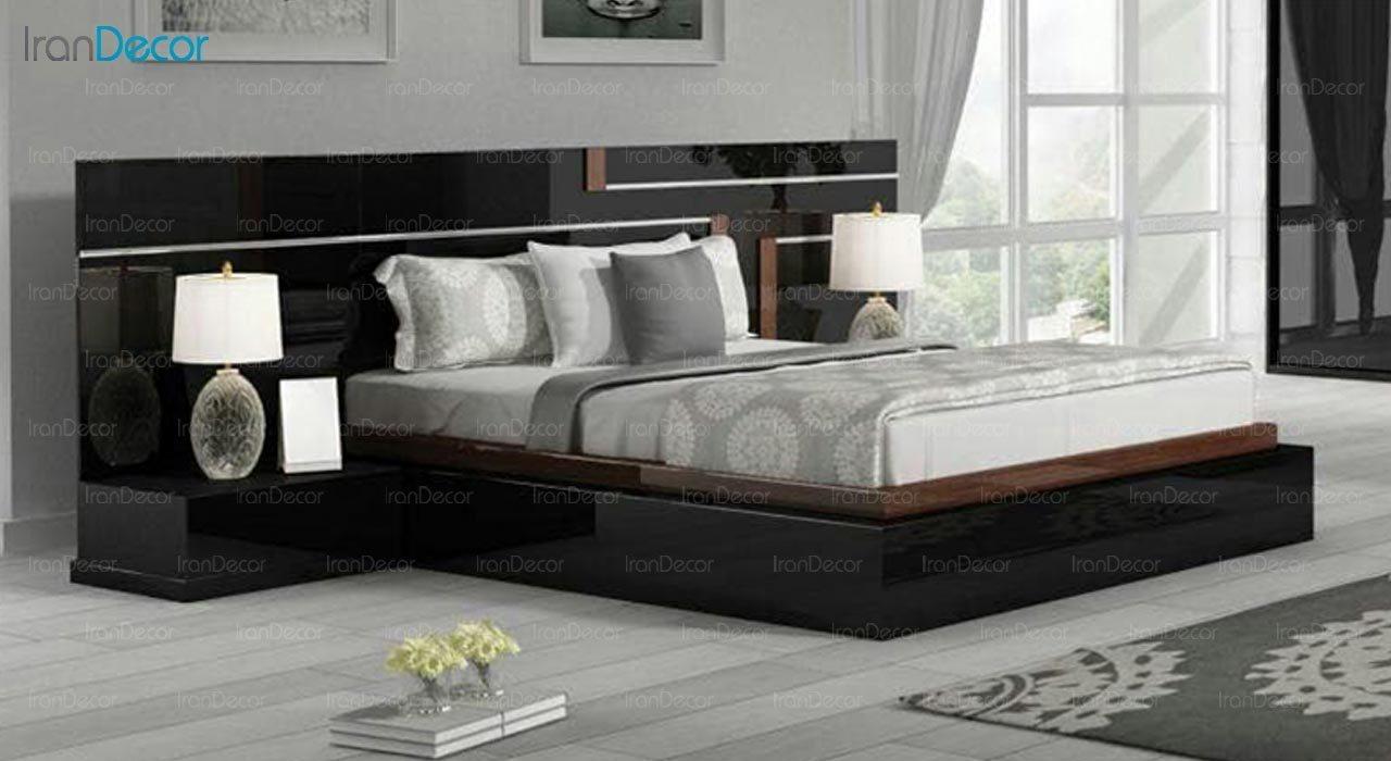 تصویر تخت خواب دو نفره امپریال مدل I150